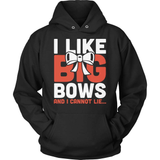 Cheerleader T-Shirt Design - I Like Big Bows And I Cannot Lie...