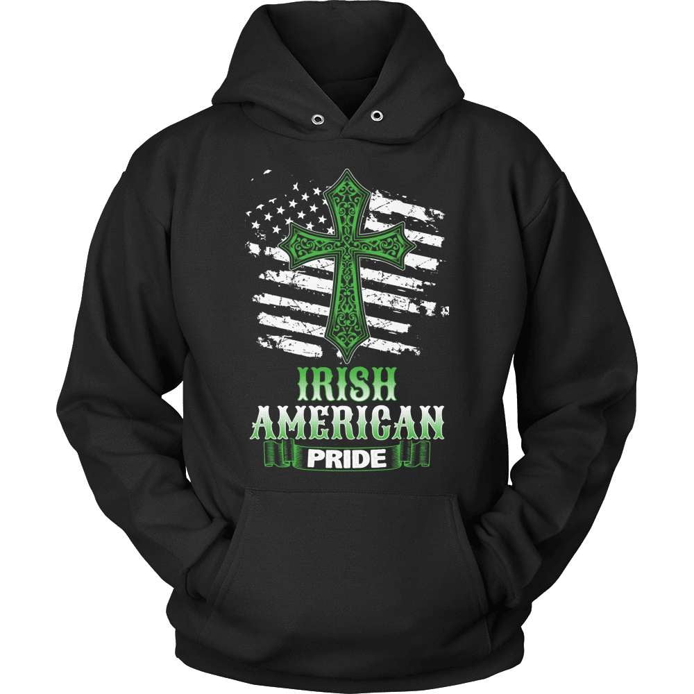 Irish T-Shirt Design - Irish American Pride - snazzyshirtz.com