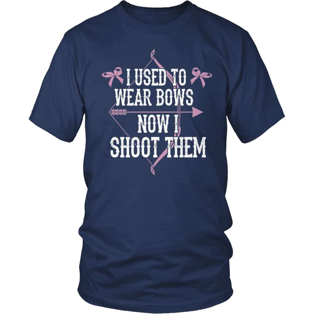Archery T-Shirt Design - I Used To Wear Bows!