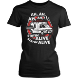 EMT T-Shirt Design - Staying Alive