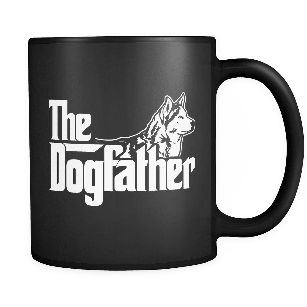 The Dogfather - Luxury Husky Mug