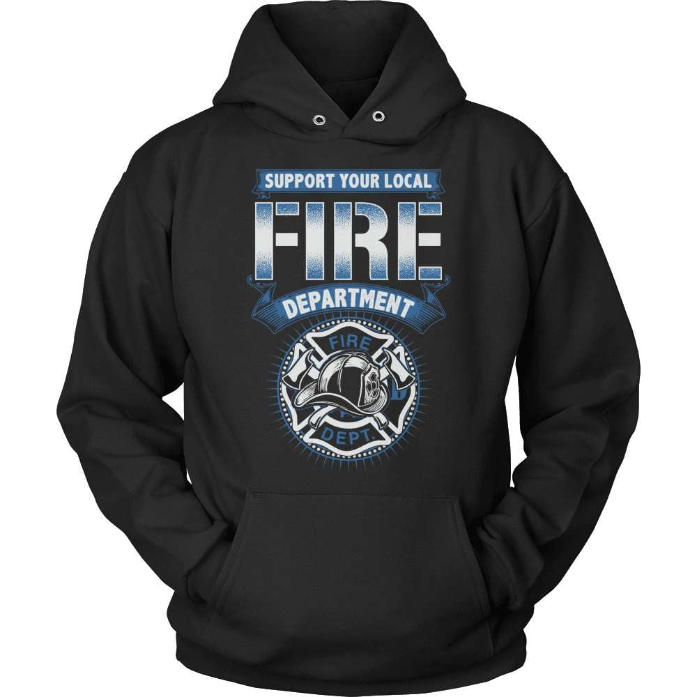Firefighter T-Shirt Design - Support The Fire Department