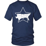 Country T-Shirt Design - South