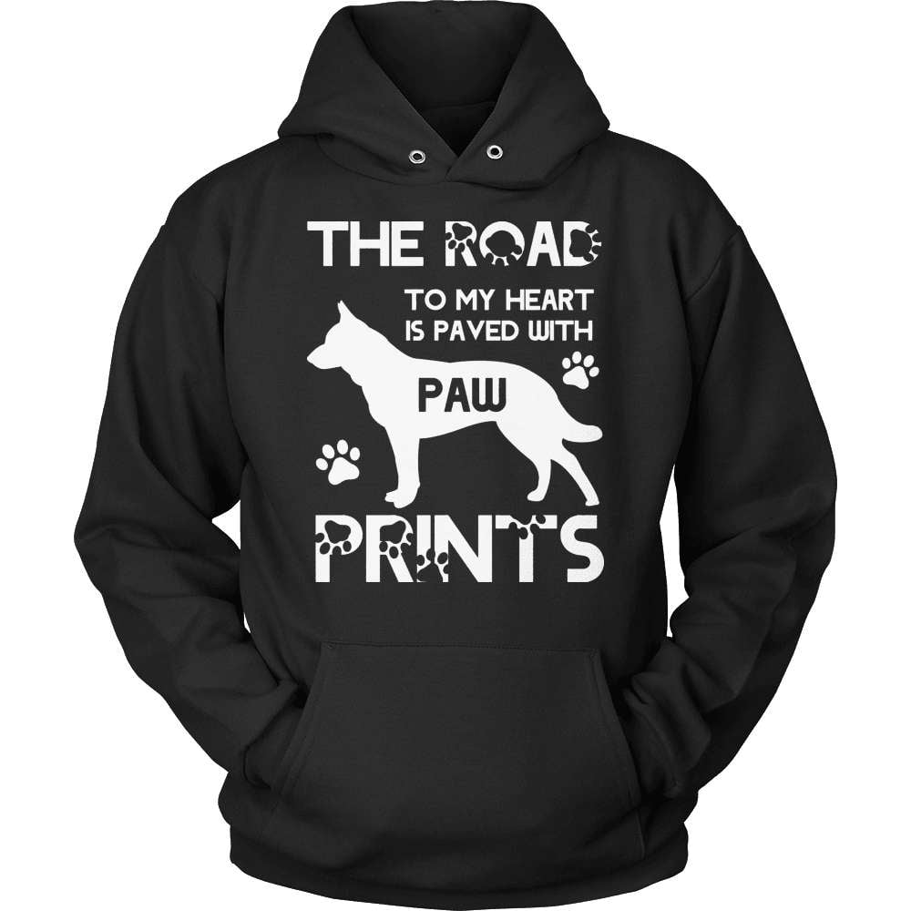 GSD T-Shirt Design - Paw Prints