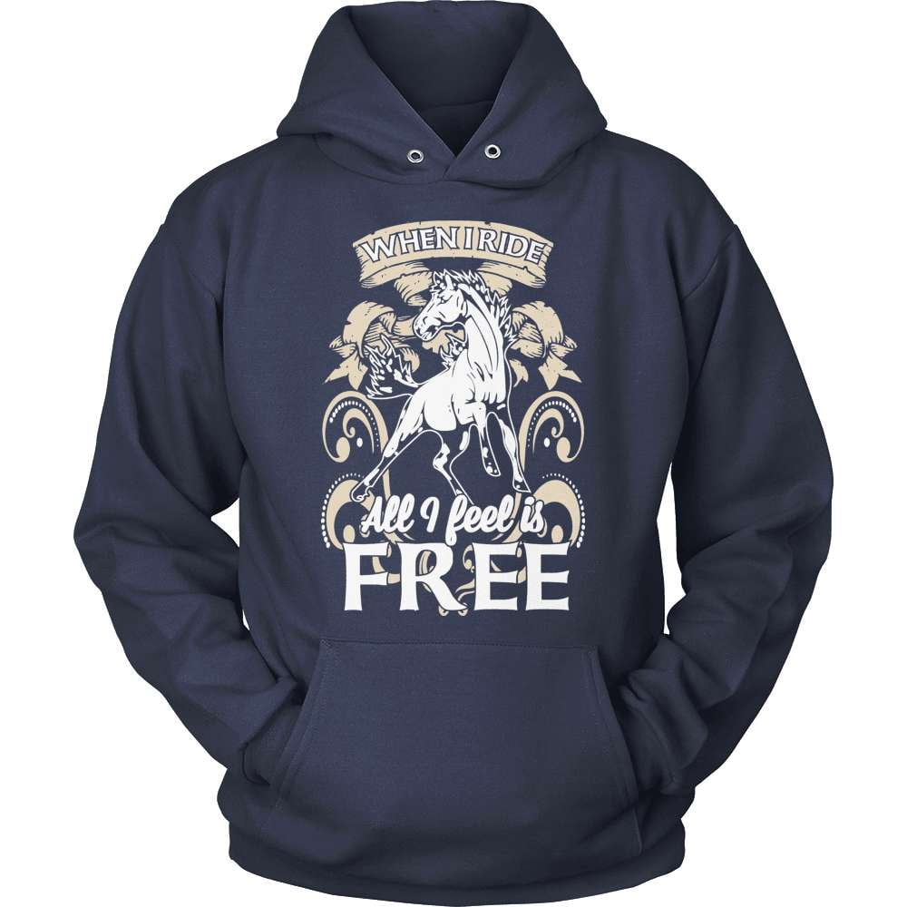 Horse T-Shirt Design - All I Feel Is Free