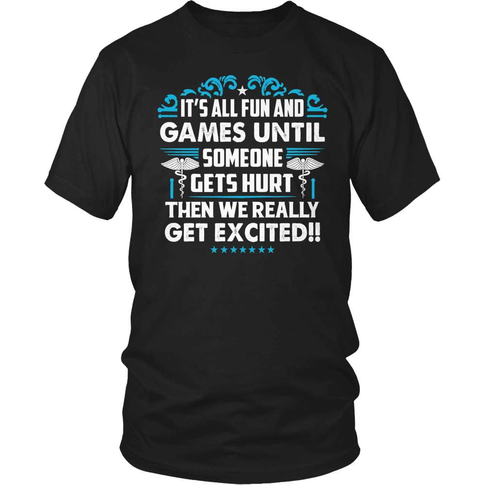 Nurse T-Shirt Design - Fun And Games