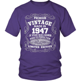 Birthday T-Shirt - Premium - 1947