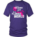 Arizona T-Shirt Design - Arizona Girl Florida World