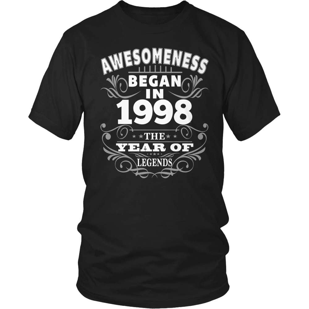 Birthday T-Shirt Design - Awesomeness - 1998 - snazzyshirtz.com