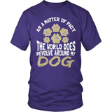 Dog T-Shirt Design - As A Matter Of Fact
