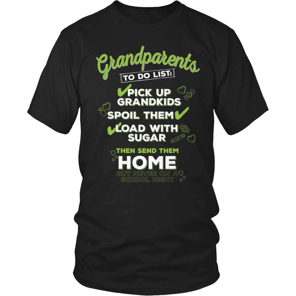 Grandparent T-Shirt Design - My To Do List - snazzyshirtz.com