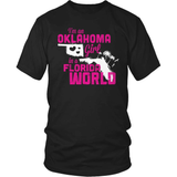 Oklahoma T-Shirt Design - Oklahoma Girl Florida World