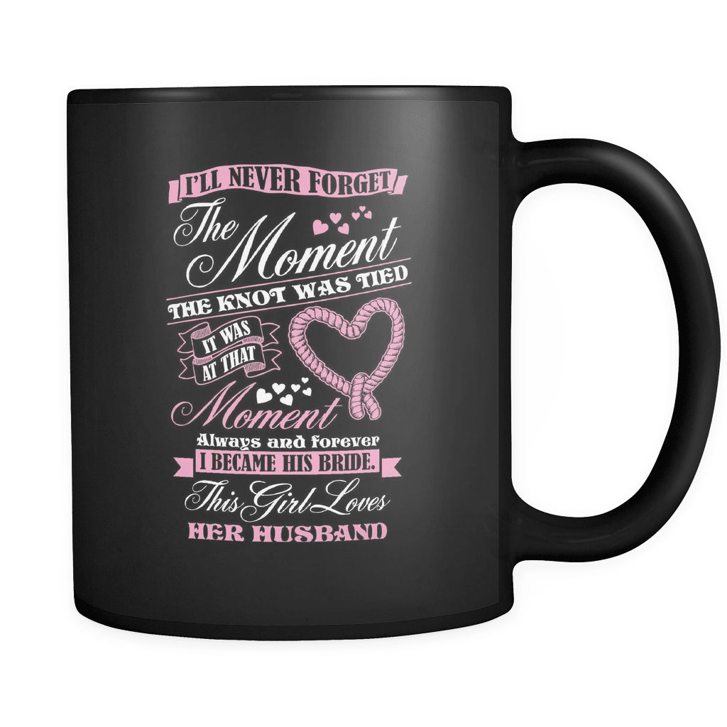 The Moment The Knot Was Tied.... - Luxury Lovers Mug