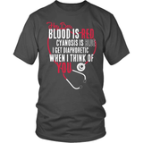 Nurse T-Shirt Design - Hey Boy
