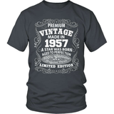 Birthday T-Shirt - Premium - 1957