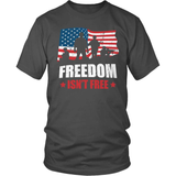 Veteran T-Shirt Design - Veterans Freedom Isn't Free