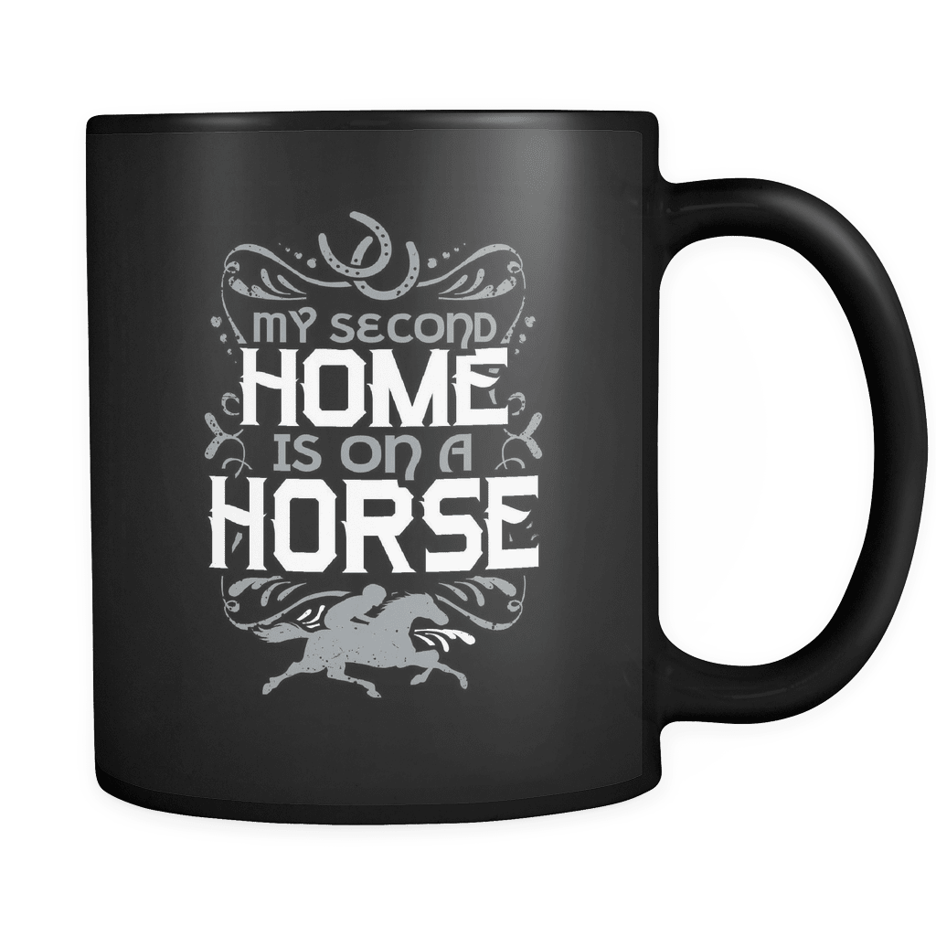 My Second Home - Luxury Horse Mug