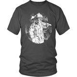 Firefighter T-Shirt Design - Fire Protector