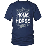 Horse T-Shirt Design - My Second Home