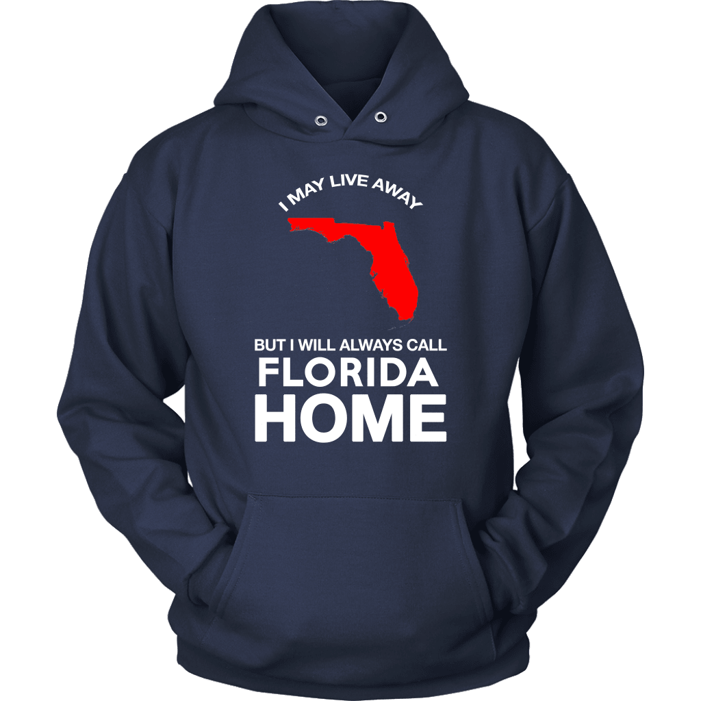 Florida T-Shirt Design - Florida Always My Home