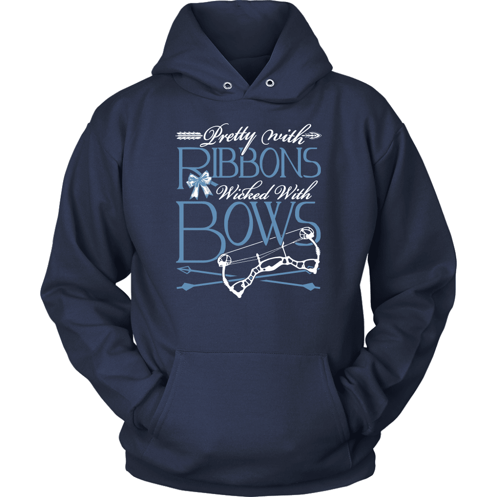 Archery T-Shirt Design - Pretty With Ribbons