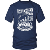 Country T-Shirt Design - What Doesn't Kill You