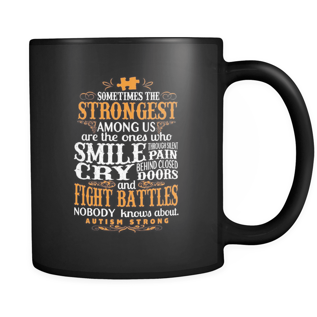 Autism Strong - Luxury Mug