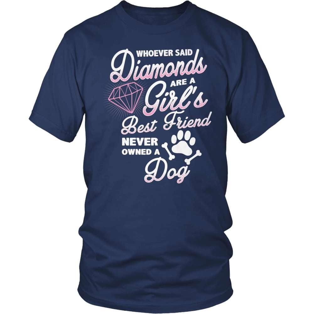 Dog T-Shirt Design - Diamond Dog