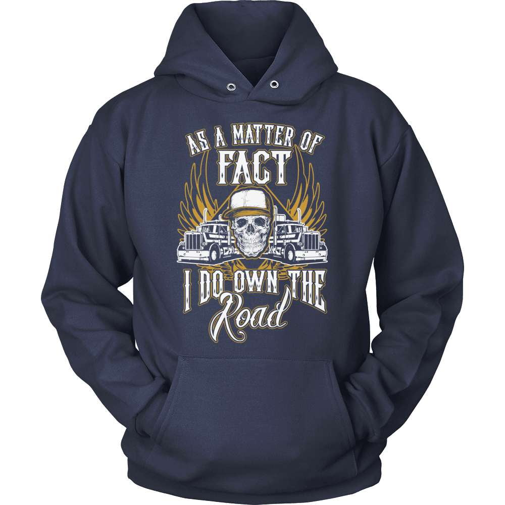 Trucker T-Shirt Design - Own The Road
