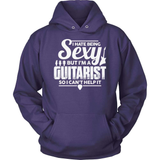 Guitarist T-Shirt Design - I Can't Help It