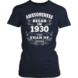 Birthday T-Shirt Design - Awesomeness - 1930