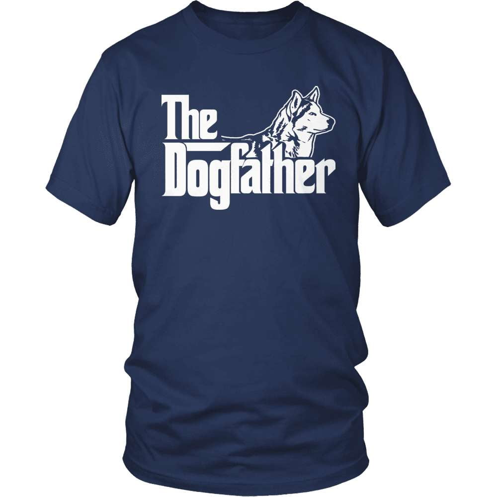 Husky T-Shirt Design - The Dogfather