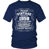 Birthday T-Shirt - Premium - 1958