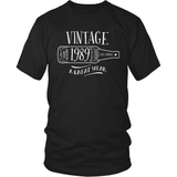Birthday T-Shirt Design - Vintage - 1989