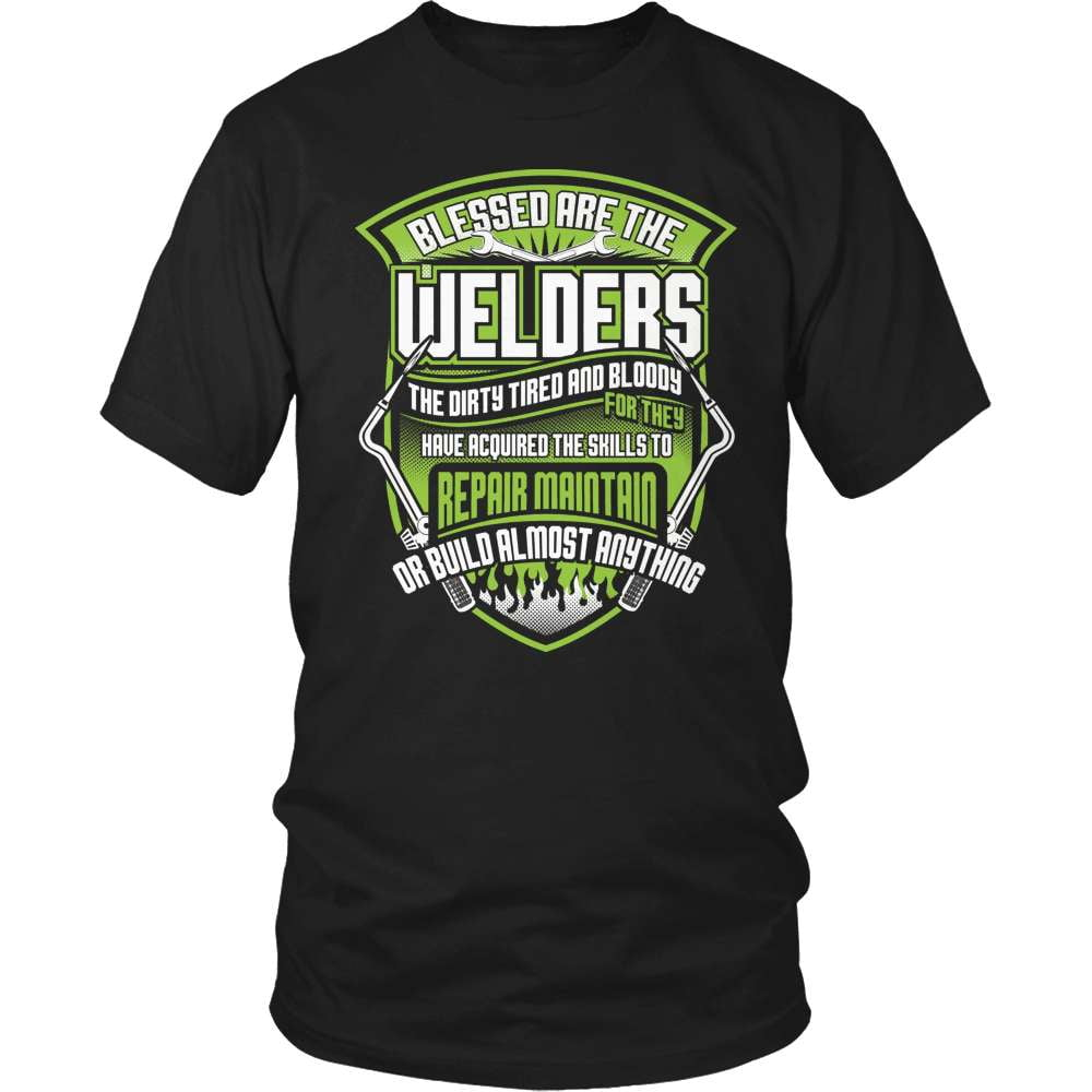 Welder T-Shirt Design - Blessed