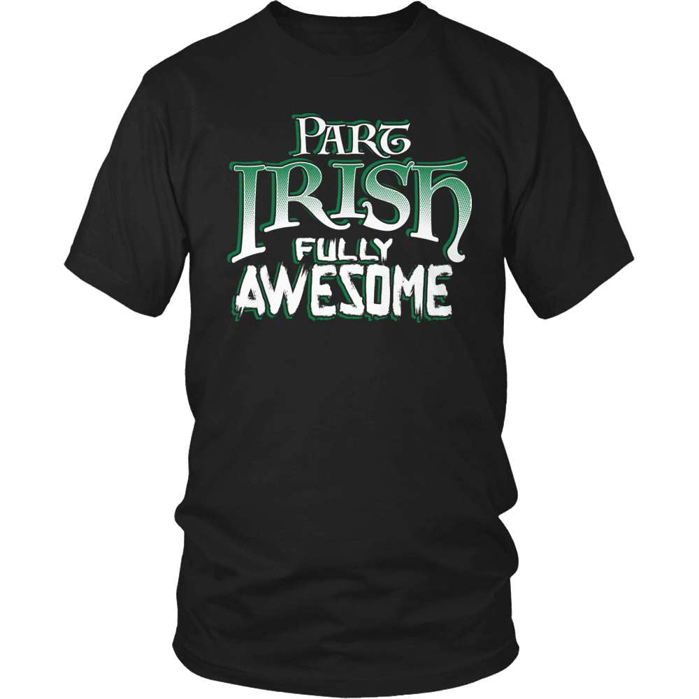 Irish T-Shirt Design - Part Irish Fully Awesome!