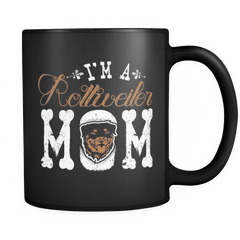 I'm A Rottweiler Mom - Luxury Mug