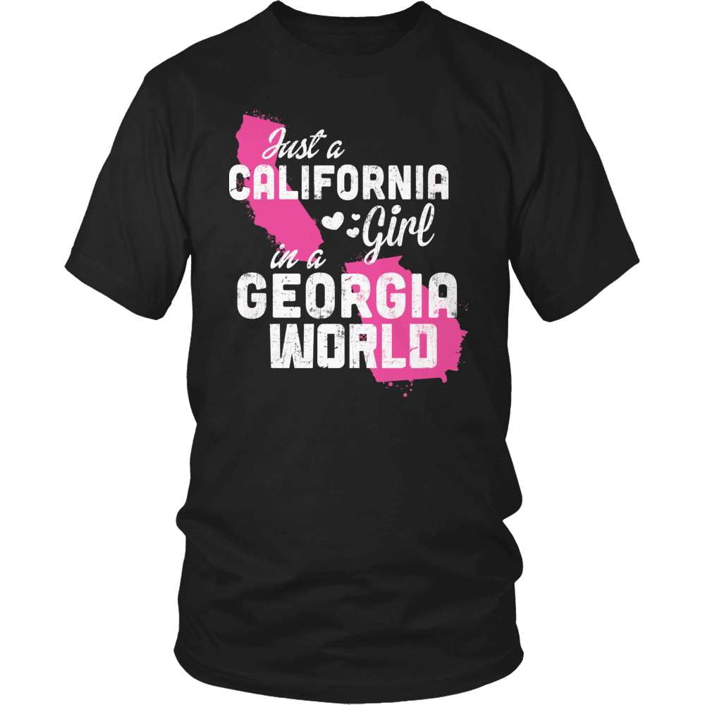 California T-Shirt Design - California Girl Georgia World
