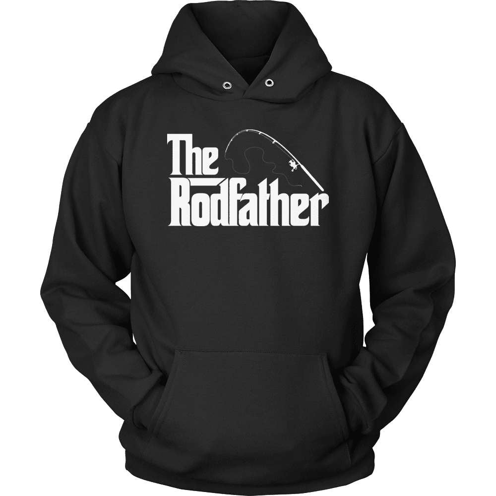 Fishing T-Shirt Design - The Rodfather! - snazzyshirtz.com