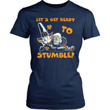 Irish T-Shirt Design - Let's Get Ready To Stumble!