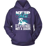Pit Bull T-Shirt Design - Not A Shark!