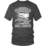 Mail Carrier T-Shirt Design - It Cannot Be Inherited!