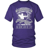 Archery T-Shirt Design - Forever The Title