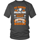 Boxer T-Shirt Design - Amazing Boxer