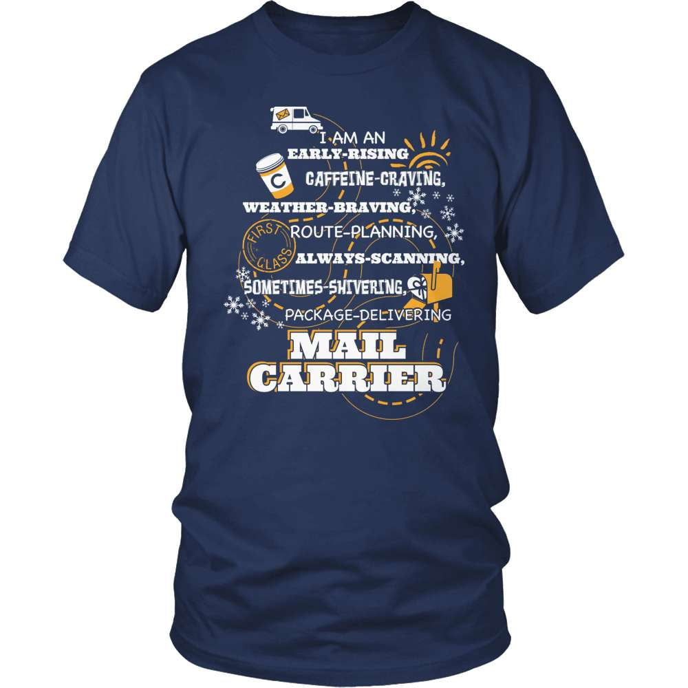 Mail Carrier T-Shirt Design - Early Rising