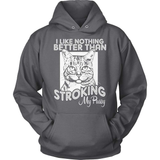 Cat T-Shirt Design - Stroking My Cat