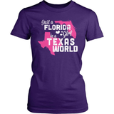 Florida T-Shirt Design - Florida Girl Texas World