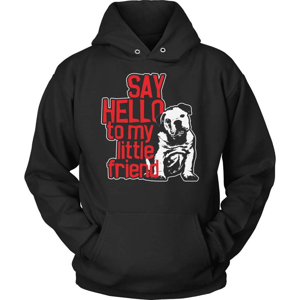 Bulldog T-Shirt Design - My Little Friend - snazzyshirtz.com