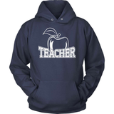 Teacher T-Shirt Design - Teacher Apple