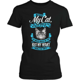 Cat T-Shirt Design - Without My Cat